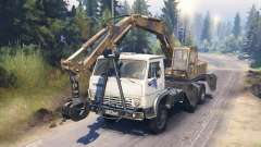 KamAZ 55102 [loader] for Spin Tires