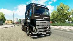 The Save the Ring skin for Volvo truck for Euro Truck Simulator 2