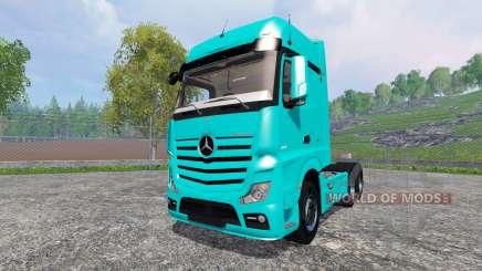 Mercedes-Benz Actros 2014 for Farming Simulator 2015