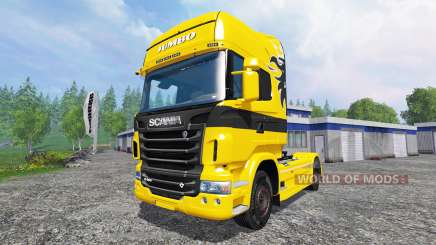 Scania R730 Jumbo for Farming Simulator 2015