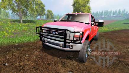 Ford F-350 [diesel] for Farming Simulator 2015