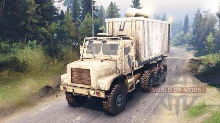 Oshkosh MTVR LHS 8x8 for Spin Tires