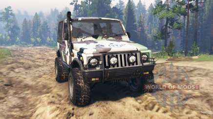 Offroader Firewall for Spin Tires