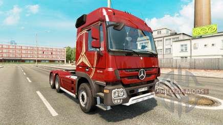 Mercedes-Benz Actros MP3 v2.0 for Euro Truck Simulator 2