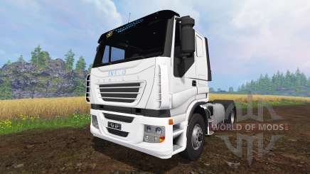 Iveco Stralis V8 LowCab v1.1 for Farming Simulator 2015