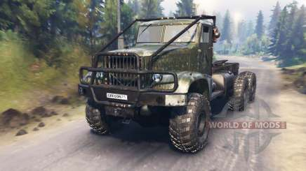 The KrAZ-214 for Spin Tires