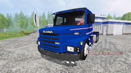 Scania 113H for Farming Simulator 2015