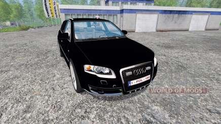 Audi A4 Police v1.1 for Farming Simulator 2015