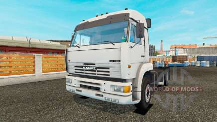 KamAZ-54115 turbo for Euro Truck Simulator 2