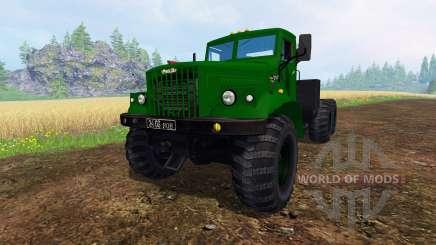 KrAZ-255 B1 v1.2.1 for Farming Simulator 2015