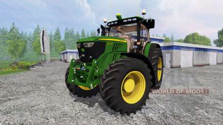 John Deere 6210R v2.0 for Farming Simulator 2015