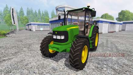 John Deere 5080R for Farming Simulator 2015