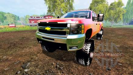 Chevrolet Silverado 2500 HD 2010 for Farming Simulator 2015