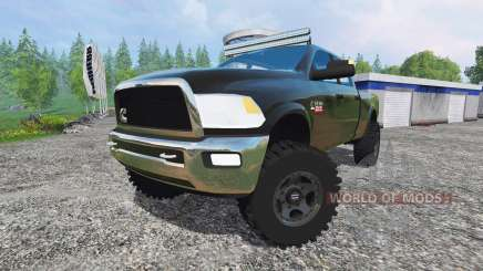 Dodge Ram 2500 v1.1 for Farming Simulator 2015