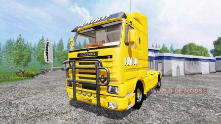 Scania 143M Jumbo for Farming Simulator 2015