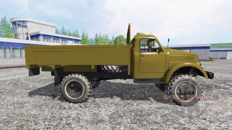 The GAZ-63 for Farming Simulator 2015