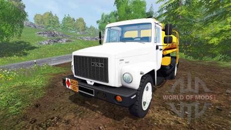 GAZ-SAZ-35071 [tanker] for Farming Simulator 2015