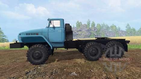 Ural-4320-1921-60M v1.1 for Farming Simulator 2015