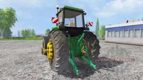 John Deere 4650 v2.0 for Farming Simulator 2015