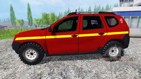 Dacia Duster VLHR for Farming Simulator 2015