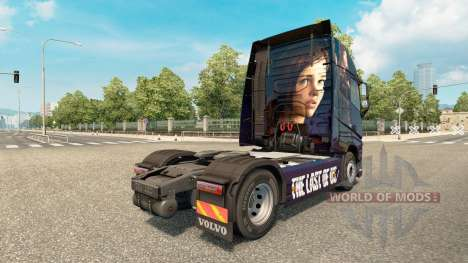 Skin The Last Of Us at Volvo trucks for Euro Truck Simulator 2