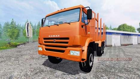 KamAZ-43118 [timber] for Farming Simulator 2015