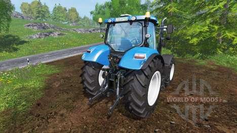New Holland T7.200 v1.0.2 for Farming Simulator 2015