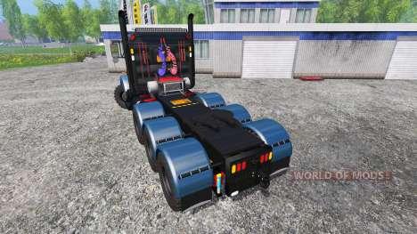 Kenworth T800 v1.1 for Farming Simulator 2015