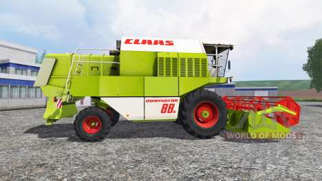 CLAAS Dominator 88S v1.1.1 for Farming Simulator 2015