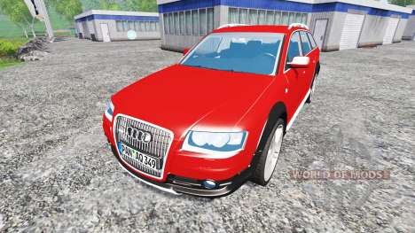 Audi A6 (C6) Allroad for Farming Simulator 2015