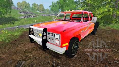 Chevrolet Silverado 1984 v2.0 for Farming Simulator 2015
