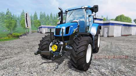 New Holland T6.160 [real engine] for Farming Simulator 2015