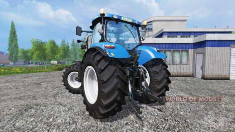 New Holland T7.210 v1.0.1 for Farming Simulator 2015