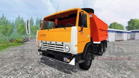 KamAZ-55111 for Farming Simulator 2015