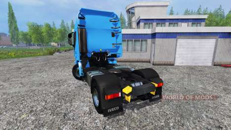 Iveco Stralis Hi-Way v1.5.1 for Farming Simulator 2015