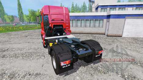 MAN TGS 18.440 [real engine] for Farming Simulator 2015