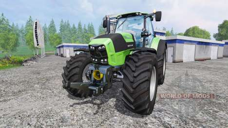 Deutz-Fahr Agrotron 7250 TTV [real engine] for Farming Simulator 2015
