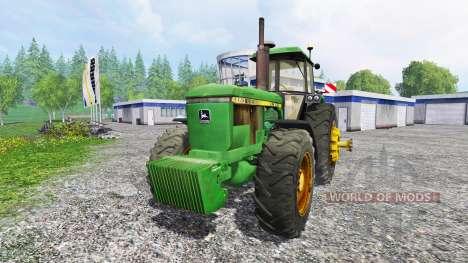 John Deere 4650 v2.1 for Farming Simulator 2015