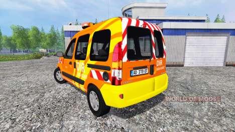 Renault Kangoo [dir sud-ouest] for Farming Simulator 2015