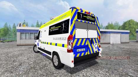 Peugeot Boxer Ambulance for Farming Simulator 2015