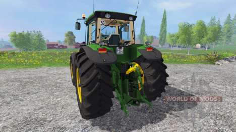 John Deere 8130 for Farming Simulator 2015