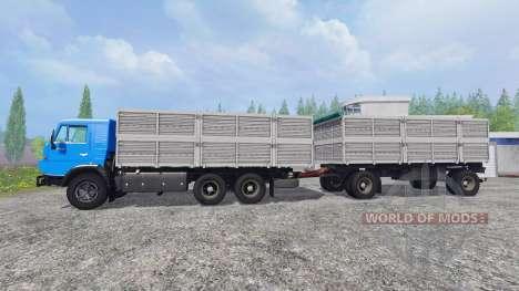 KamAZ-53212 [trailer] for Farming Simulator 2015