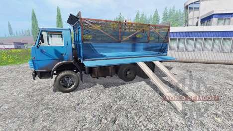 KamAZ-55102 v2.0 for Farming Simulator 2015