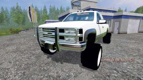Chevrolet Silverado 1996 v1.1 for Farming Simulator 2015