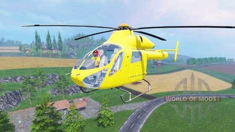 Eurocopter EC145 for Farming Simulator 2015