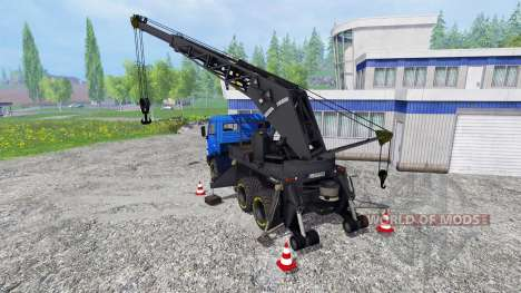 KamAZ Crane v2.2 for Farming Simulator 2015