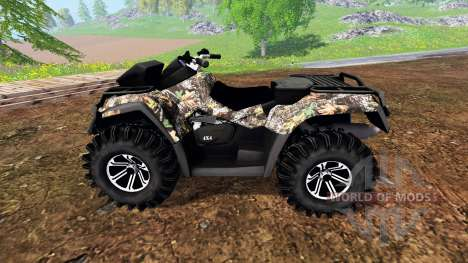 Can-Am Outlander 1000 XT for Farming Simulator 2015