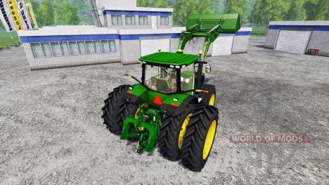 John Deere 7310R FL for Farming Simulator 2015