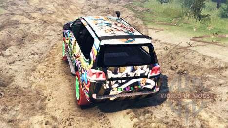 Toyota Land Cruiser 200 [Monster Energy] for Spin Tires