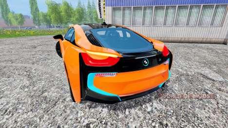 BMW i8 eDrive v1.7 for Farming Simulator 2015